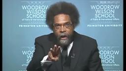 CornelWestFerguson renowned Princeton Prof