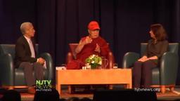 Dali Lama Princeton visit October 28 2014