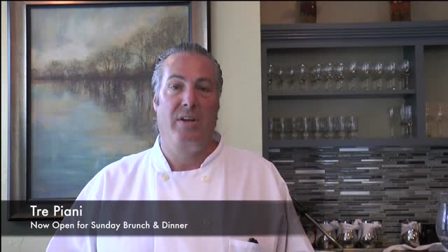 Tre Piani Now On Sundays Extraordinary Brunch & Dinner