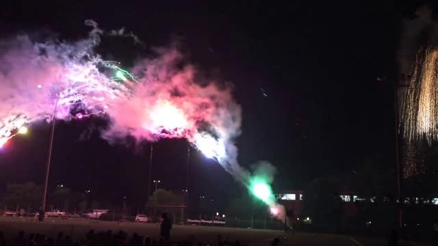 2015 Princeton Reunions Fireworks: Over the Rainbow