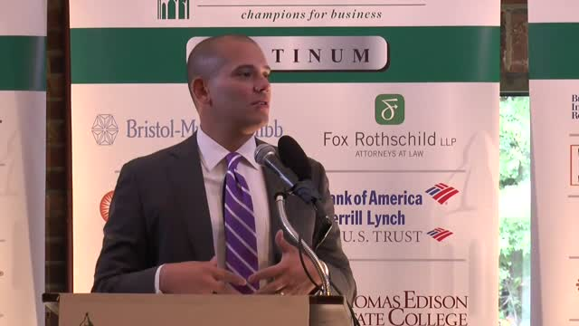 NJ HomelandSecurityDirector @ Princeton NJ Chamber Part1