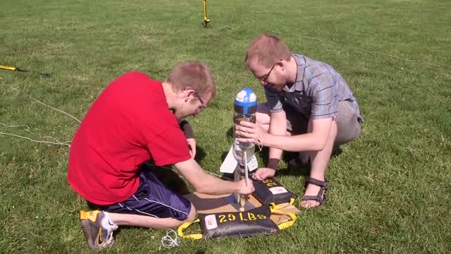Princeton Freshman Scholars Institute Bottle Rocket Launch