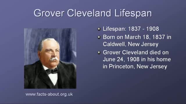 Grover Cleveland, Princeton, TWICE US President