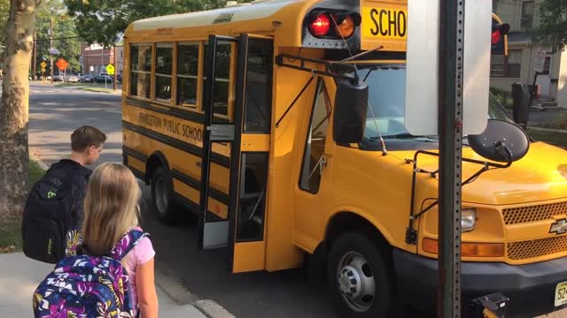 Officer Leonard & the Princeton Police Dept. Bus Safety Video