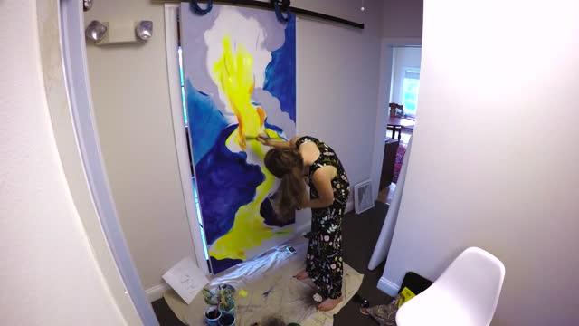 Good Grief, Princeton NJ: Painting the Volcano Door
