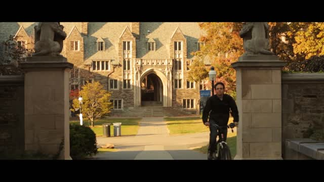 Good Morning, Princeton Fall in Princeton NJ