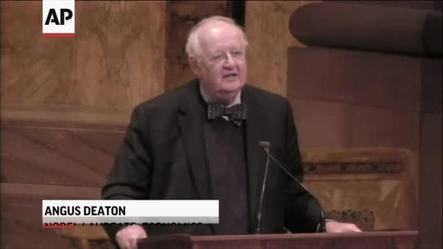 Angus Deaton of Princeton University wins Nobel Prize