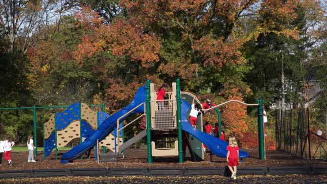 Beautiful Fall Day- Chapin School Princeton!