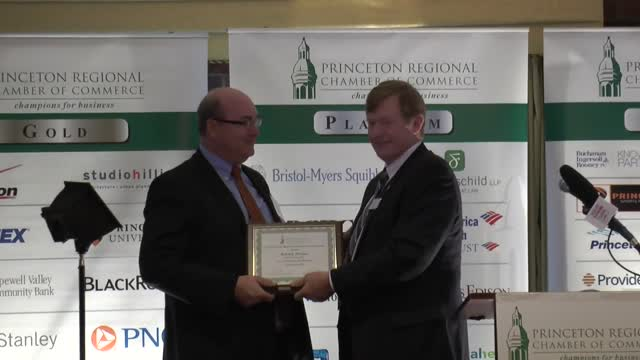 Princeton Regional Chamber Nov. Champion for Business