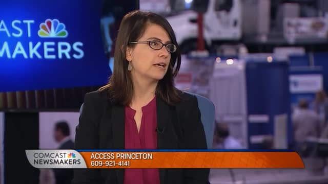 Mayor Liz Lempert speaks about Access Princeton