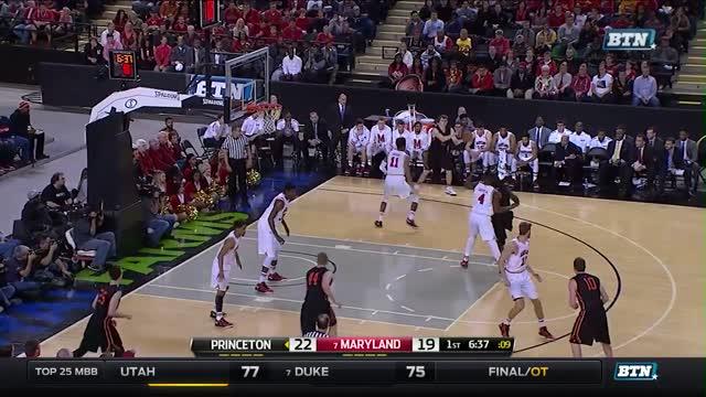 Princeton vs. Maryland - NCAA Men's Basketball Highlights