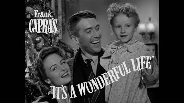 It's a Wonderful Life' Jimmy Stewart Princeton'32