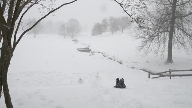 Princeton University in Snow of Jan. 23 2016