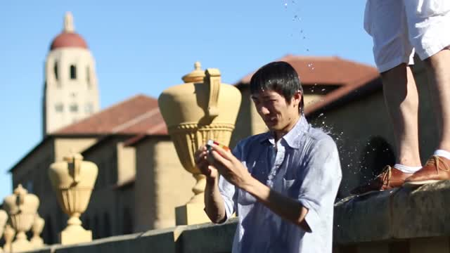 Shotaro Makisumi - ALS Ice Bucket Cube Challenge