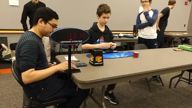 Princeton Winter 2016 Rubik's Cube Competition