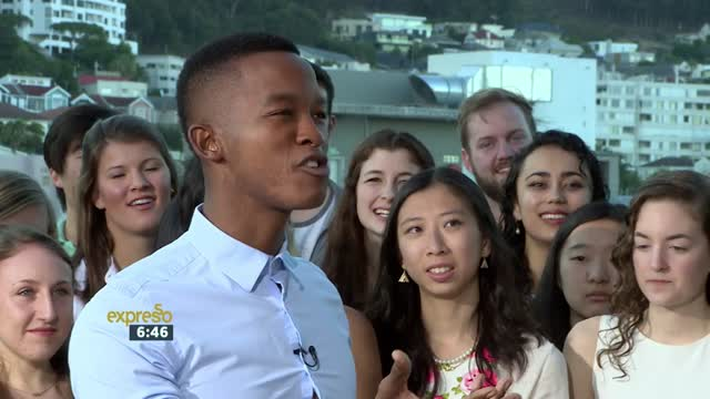 Princeton University Glee Club performs in South Africa