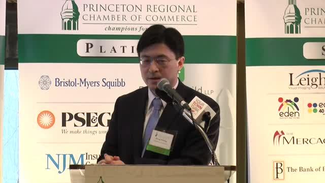 February 2016 Guest Speaker Princeton Regional Chamber