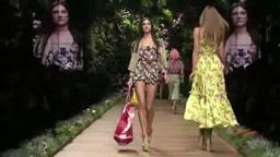 D&G WOMAN FASHION SHOW SUMMER 2011‬.