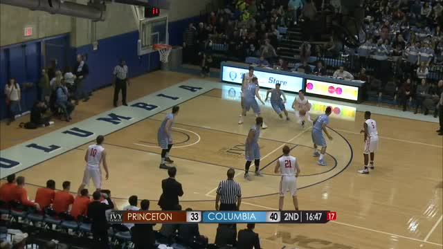 Princeton Men's Basketball @ Columbia Extended Highlights