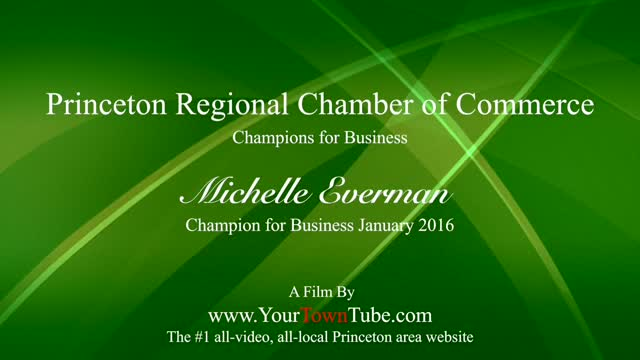 Champion for Business Jan. 2016 Michelle Everman