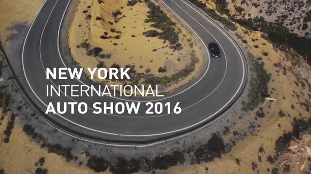 2017 Mercedes GLC Coupe @ NY International Auto Show