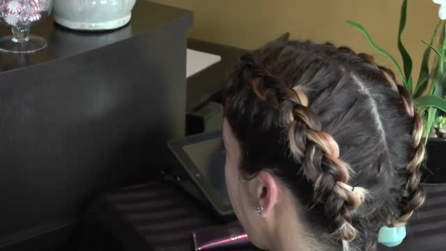 Cornrow Pigtail How-To - Great Looks Salon Lawrenceville NJ