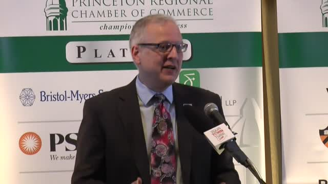 Patrick Murray Monmouth Poll @ Princeton Chamber Luncheon