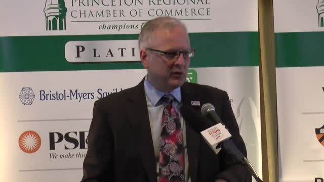 Patrick Murray Monmouth Pt.2 @Princeton Chamber Luncheon