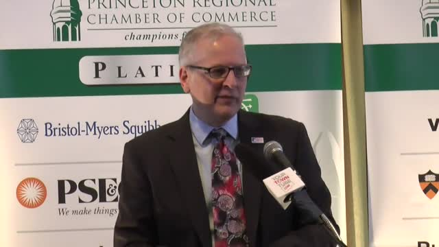 Patrick Murray @ Princeton Regional chamber Pt.3