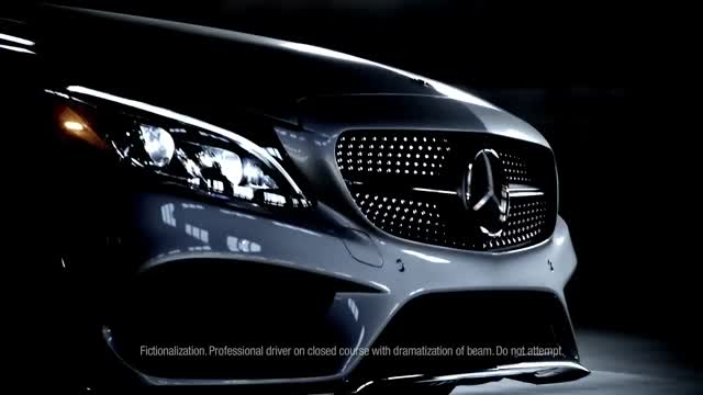 Mercedes-Benz 2017 C-Class Coupe Commercial – 'Beam'