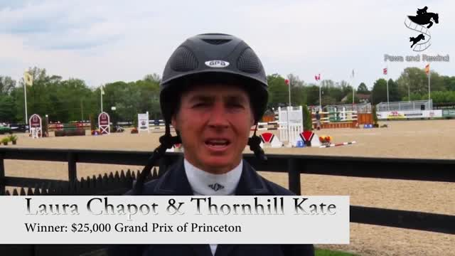 Laura Chapot & Thornhill Kate Win $25,000 Grand Prix