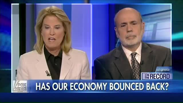 Bernanke: More should've been jailed for 'Great Recession' Princeton Prof
