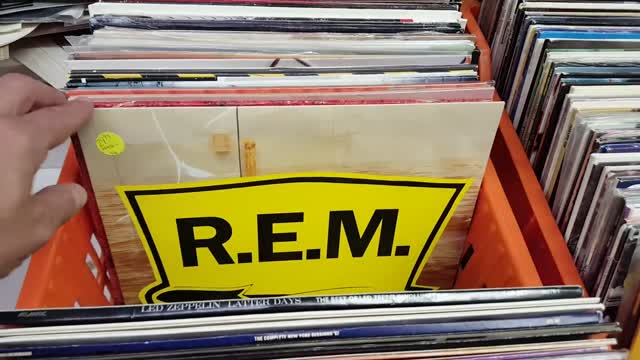 Princeton Record Exchange Rare 90's Vinyl just arrived