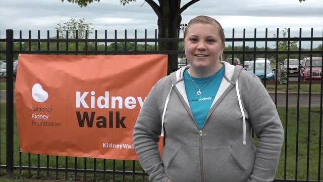 Kidney Walk 2016 Mercer Park Main Walk Message Video