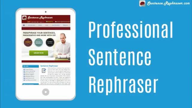 Sentence Rephrasing Service