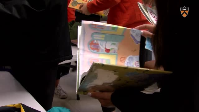Tigers read at Princeton, Trenton elementary schools
