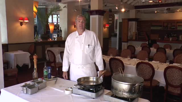 Tre Piani How To fantastic dish - Spinach and White Linguini by Jim Weaver