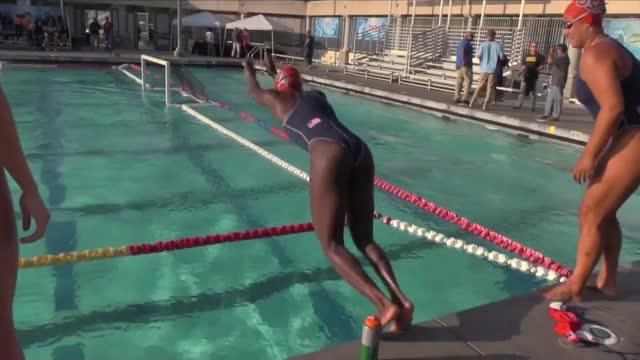 USA Water Polo Star Ashleigh Johnson. Princeton
