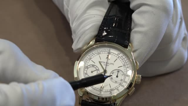 'Hamilton Watch Scene' No.1: Patek Philippe Chronograph Ref. # 5170