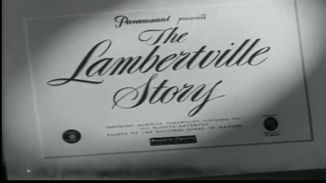 The Lambertville Story - 1949