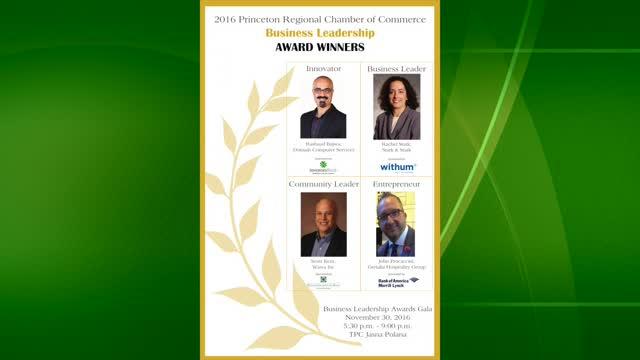 Business Leadership Gala Award Winners Princeton Regional Chamber