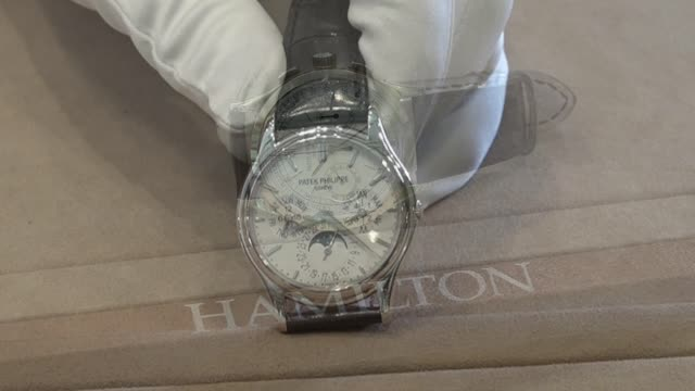 'Hamilton Watch Scene' No.2: Patek Philippe Pre-Owned #5140