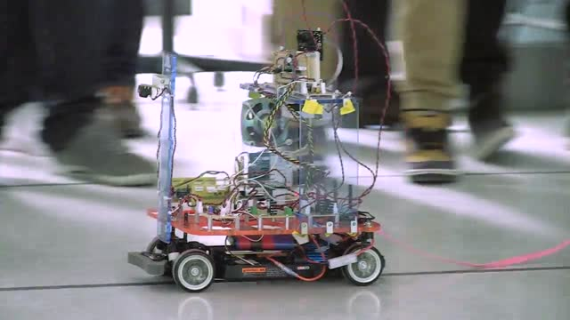 Robotic projects are rite of passage in Car Lab