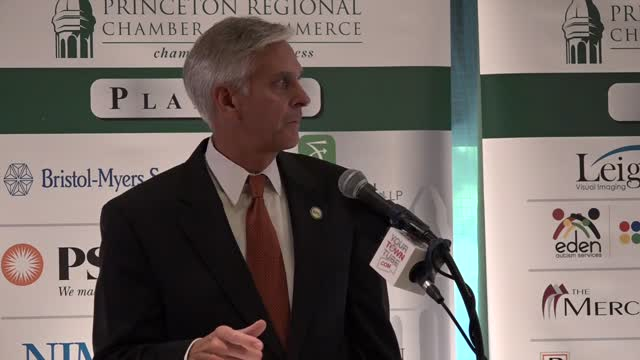 Princeton Chamber Speaker: Rick Mroz Pt.2