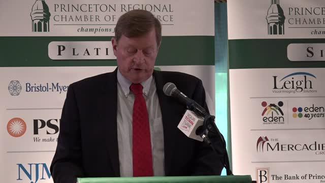 Princeton Chamber Speaker Rick Mroz Oct.'17