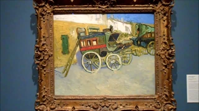 Van Gogh & Monet in Princeton Art Museum