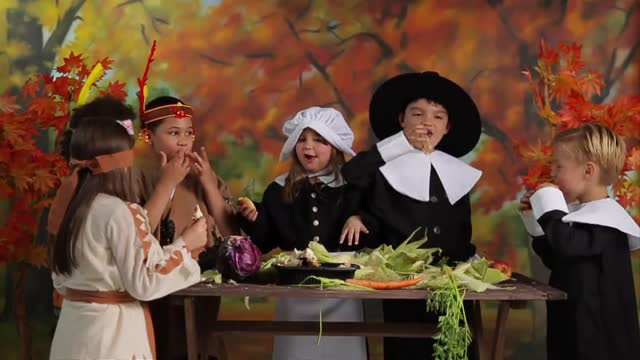 Kids History: Histroy of The First Thanksgiving
