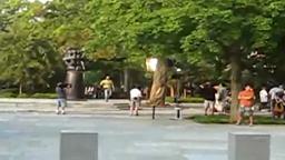 Transformers 2 filming at Princeton University