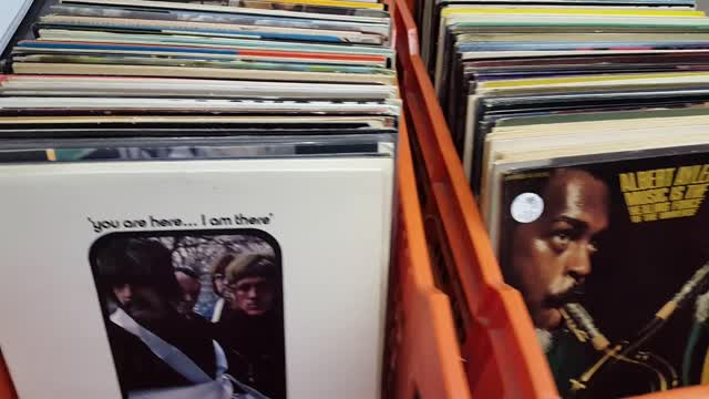 New Arrivals, 1,000 vinyl jazz records @ Princeton Record Exchange, Jan. 2017