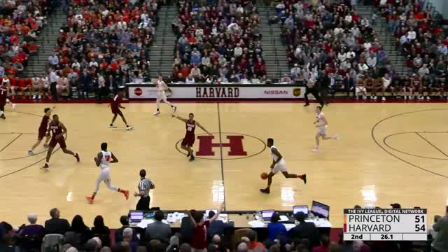 Wow! what a game Princeton/Harvard Men's BBall 2/3/17